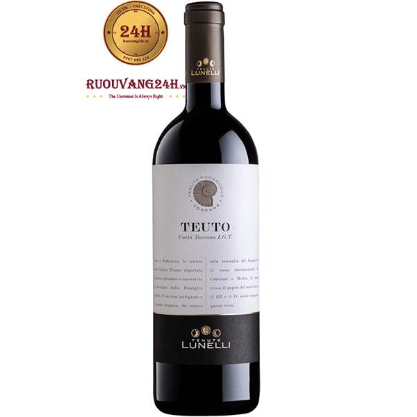 Rượu Vang Tenute Lunelli Teuto Costa Toscana