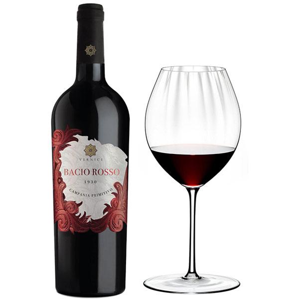 Rượu Vang Vernice Bacio Rosso Campania Primitivo