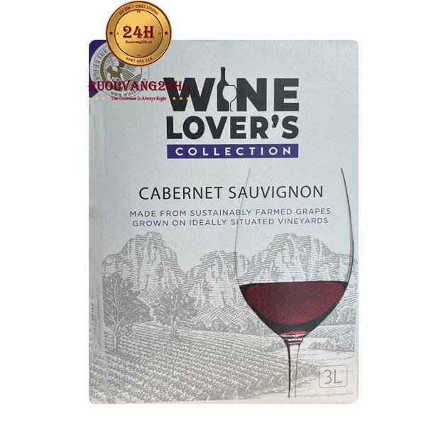 Rượu Vang Bịch Wine Lovers Collection Cabernet Sauvignon