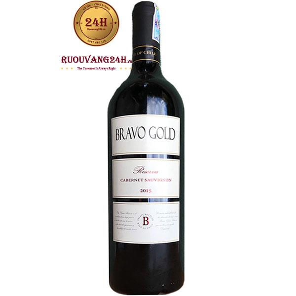 Rượu Vang Bravo Gold Reserva Cabernet Sauvignon