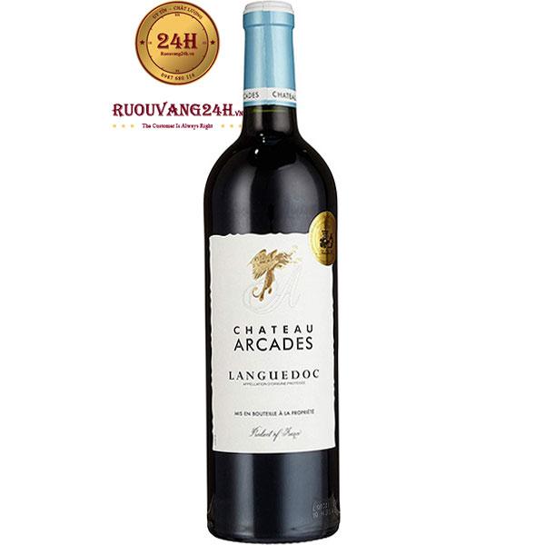 Rượu Vang Chateau Arcades Languedoc