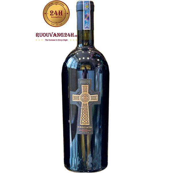 Rượu Vang Crociato Negroamaro 16,5 Độ