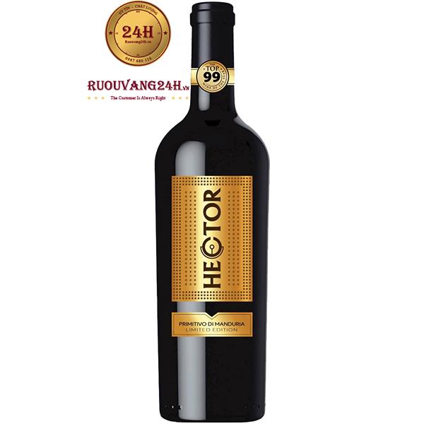 Rượu Vang Hector Primitivo Di Manduria Limited Edition
