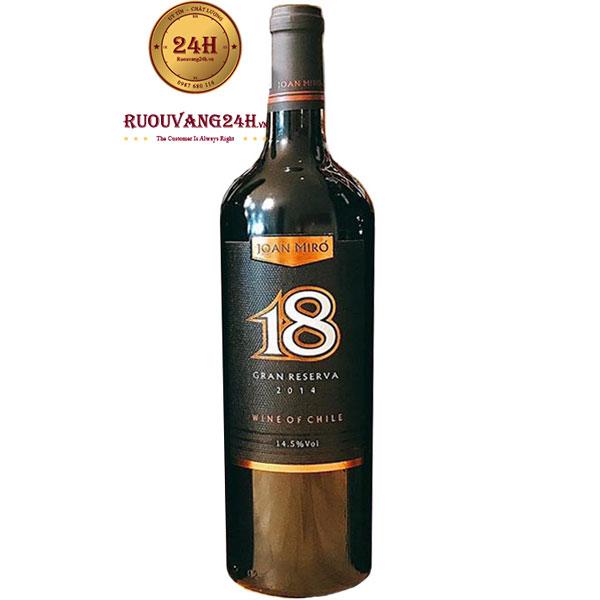 Rượu Vang Joan Miro 18 Gran Reserva