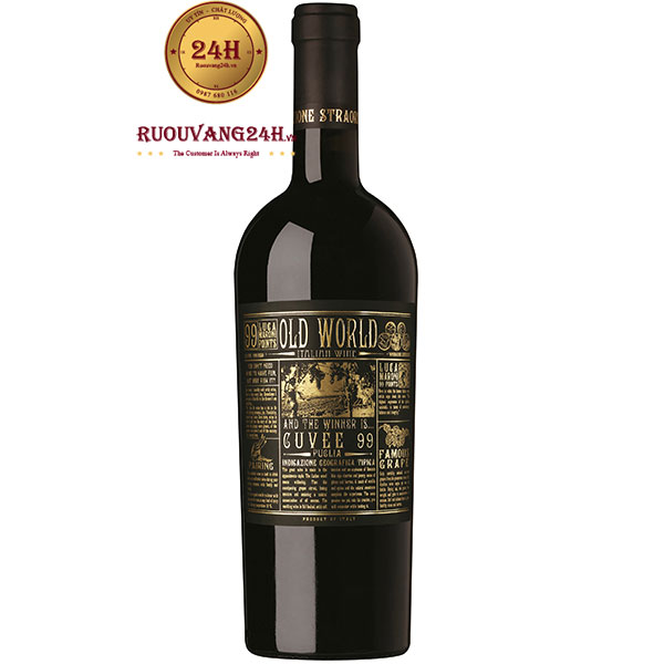 Rượu Vang Old World Cuvee 99 Điểm