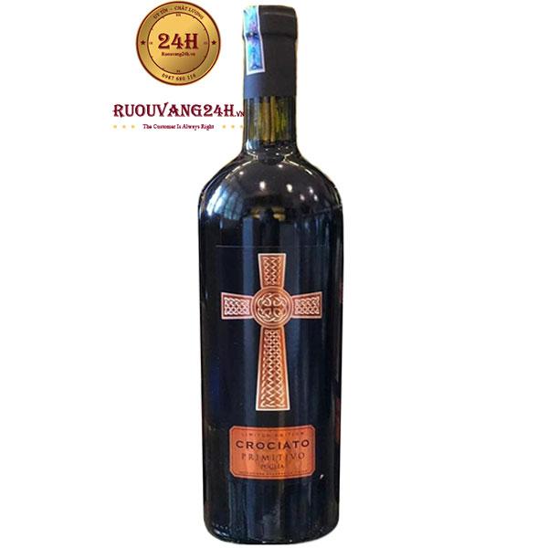Rượu Vang Thánh Giá Crociato Primitivo 18 Độ